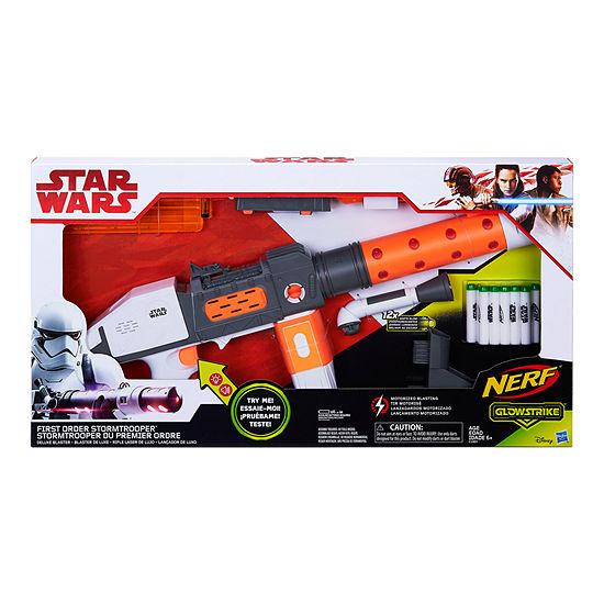 Star Wars First Order Stormtrooper Nerf Deluxe Blaster