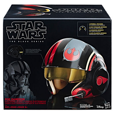 Star Wars The Black Series Poe Dameron Electronic X-Wing Pilot Helmet