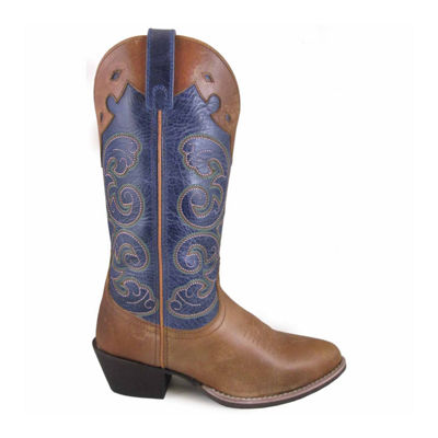 "Smoky Mountain Women's Alpine 12"" Leather Cowboy Boot"