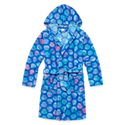 Arizona Sea Shell Long Sleeve Robe - Girls 4-16