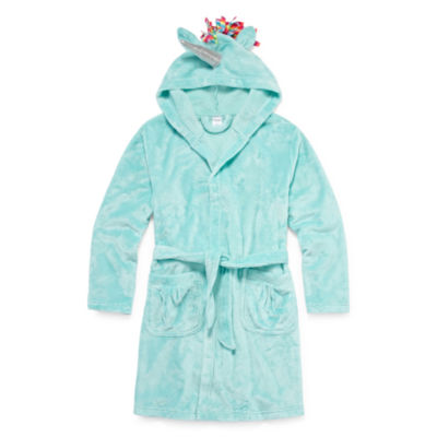 Arizona Unicorn Long Sleeve Robe - Girls 4-16
