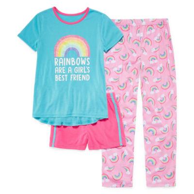 Jelli Fish Kids 3-pc. Pajama Set Girls