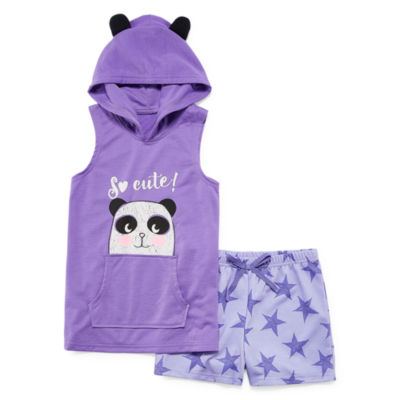 Jelli Fish Kids 2-pc. Shorts Pajama Set Girls
