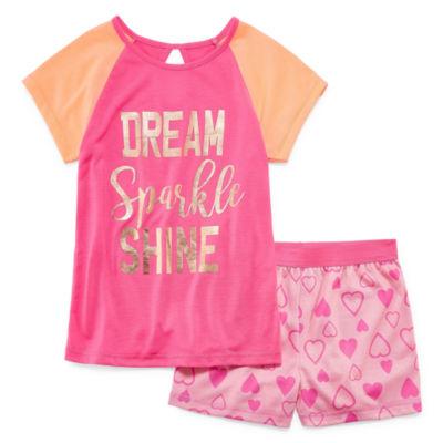 Jelli Fish Kids 2-pc. Shorts Pajama Set Girls