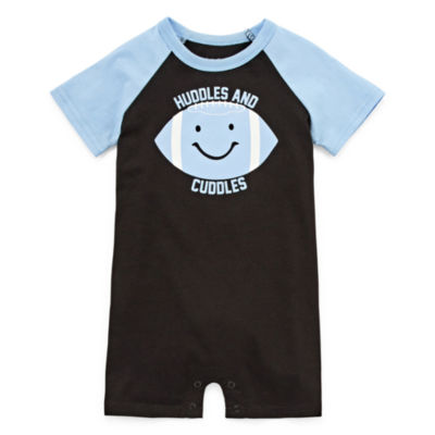 Okie Dokie Football Creeper - Baby Boy NB-12M