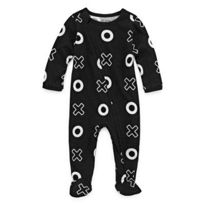 Okie Dokie Full Zip Sleep and Play - Baby Boy NB-9M