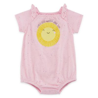 Okie Dokie Sunshine Creeper - Baby Girl NB-12M