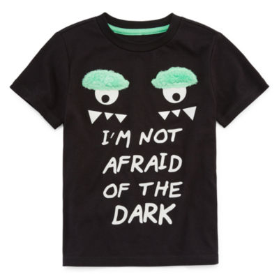 TODDLER BOYS- OKIE DOKIE MONSTER GLOW IN THE DARK T-SHIRT
