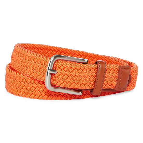 Izod Orange Stretch Web Belt - Boys 4-20