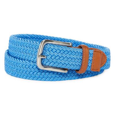 IZOD Light Blue Stretch Web Belt - Boys 4-20