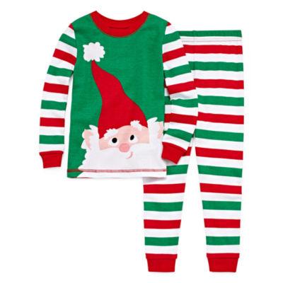Santa 2 Piece Pajama Set - Toddler Boys