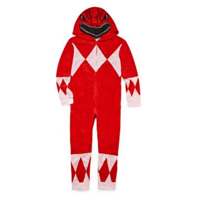 Power Rangers One Piece Pajama-Preschool Boys