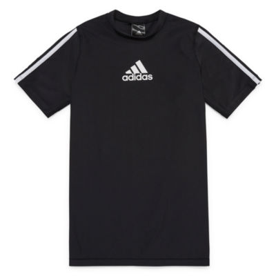 Adidas Short Sleeve Rash Guard-Boys 8-20