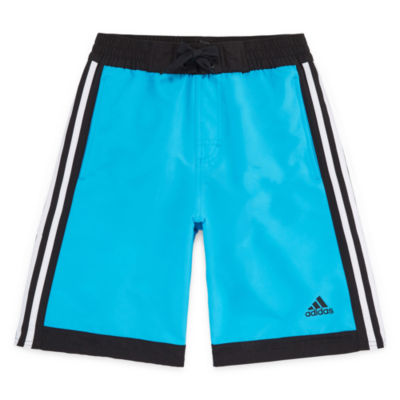 Adidas Core Volley Swim Trunks-Boys 8-20