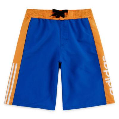 Adidas Billboard Swim Trunks-Boys 8-20