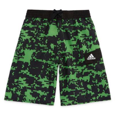 Adidas Camouflage Swim Trunks-Boys 8-20