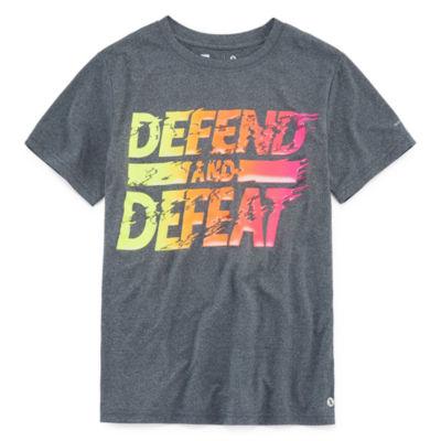 Xersion Quick-Dri Graphic T-Shirt-Big Kid Boys