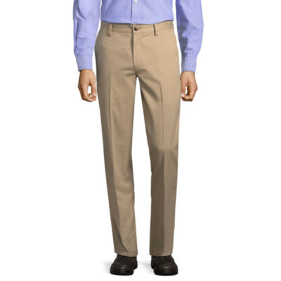 St. John's Bay Slim Fit Flat Front Pants