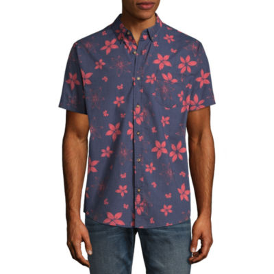 Levi's Short Sleeve Floral Button-Front Shirt