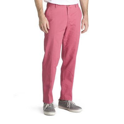 IZOD Saltwater Stretch Classic Fit Flat Front Pants