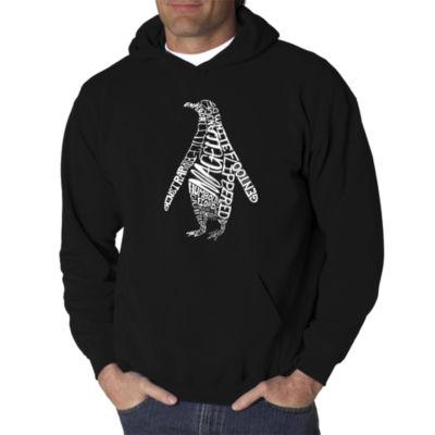 Los Angeles Pop Art Penguin Logo Hoodie -  Men's Big and Tall