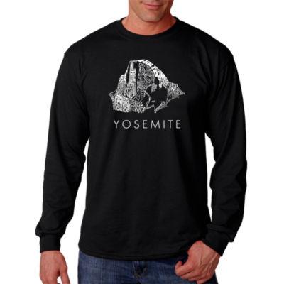 Los Angeles Pop Art Yosemite T-Shirt-Big and Tall
