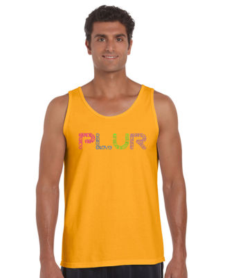 Los Angeles Pop Art Plur Tank Top Big and Tall