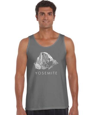 Los Angeles Pop Art Yosemite Tank Top Big and Tall