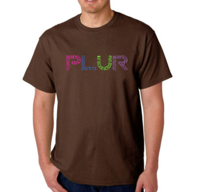 Los Angeles Pop Art Plur Mens Graphic T-Shirt-Big and Tall