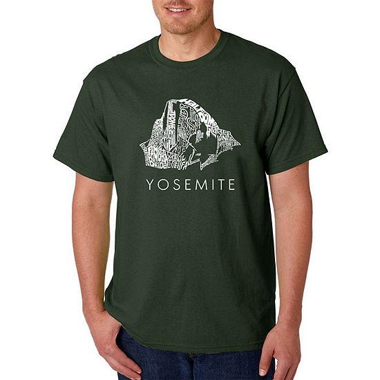 Los Angeles Pop Art-Big and Tall Yosemite Mens Graphic T-Shirt