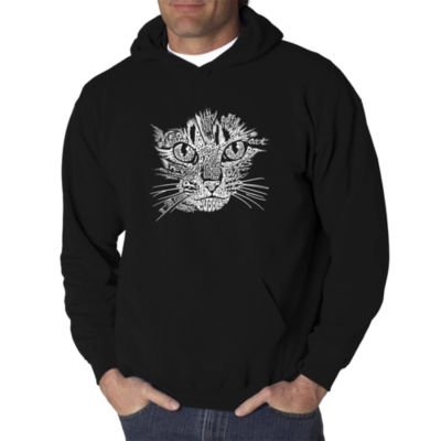 Los Angeles Pop Art Catface Logo Hoodie -  Men's Big and Tall