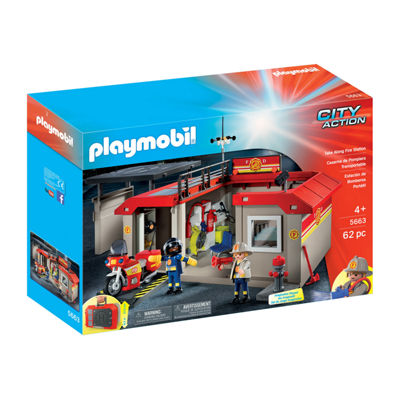 Playmobil Fire Station Take Along