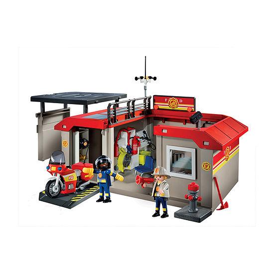 Playmobil Fire Station Take Along