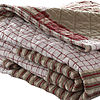 EDDIE BAUER CAMANO ISLAND PLAID RED 50X60 THROW