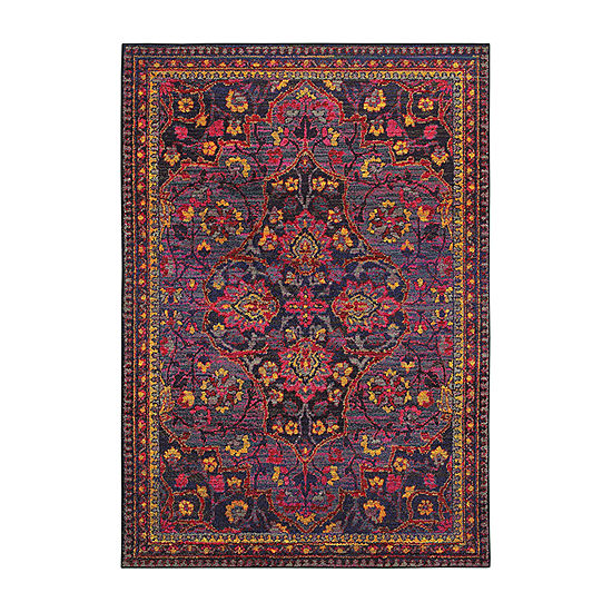 Throw Rug Cleaning Near Me: Covington Home Wanderlust Voyage Rectangular Indoor Accent