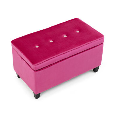 4D Concepts Girls Pink Bench