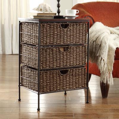 4D Concepts Tarzana Farmington 3 Drawer Storage Cabinet