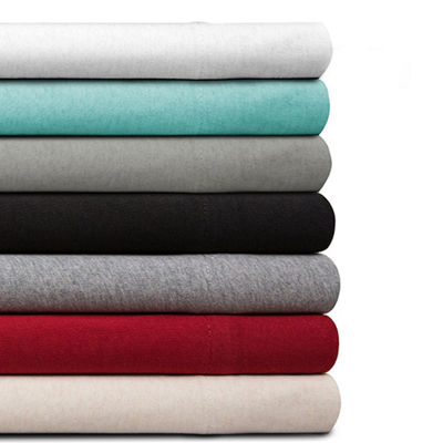 Organic Cotton Jersey King Sheet Set