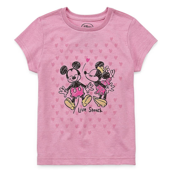 Disney Minnie Mouse Graphic T-Shirt-Big Kid