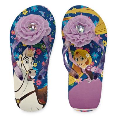 Disney Rapunzel Flip-Flops