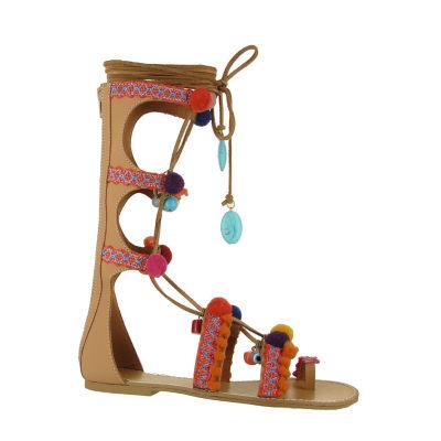 Mia Girl Womens Gladiator Sandals