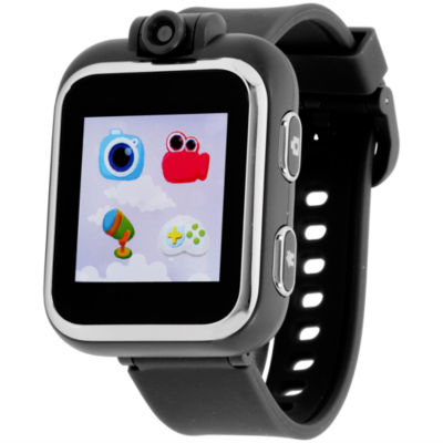 Itouch Playzoom Boys Black Smart Watch-Ipz03494s59b-003