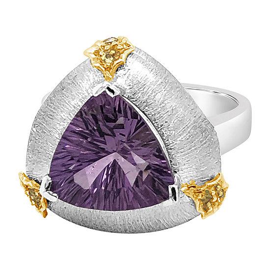 Le Vian Grand Sample Sale™ Ring featuring Grape Amethyst™ Nude Diamonds™ set in 18K Vanilla Gold®