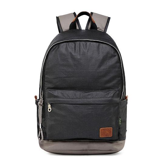 Tsd Brand Urban Light Coated Canvas Laptop Backpack