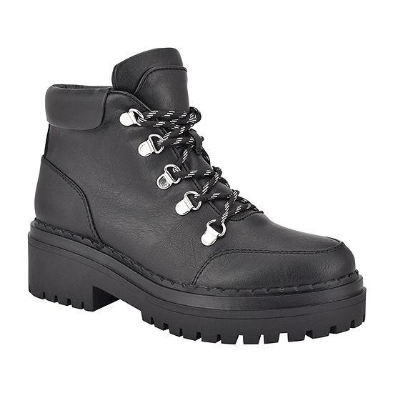 Indigo Rd. Womens Wrenley-J Block Heel Booties