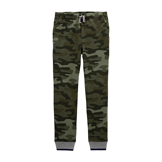 Carter's Little & Big Boys Cuffed Pull-On Pants
