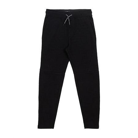 Hollywood Mens Regular Fit Jogger Pant, Large , Black