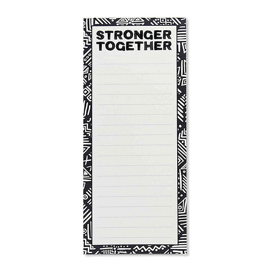 Stronger Together Notepad