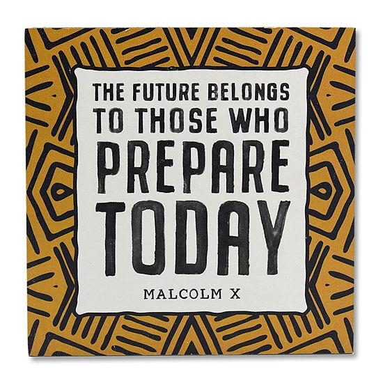 Prepare Today Caption Box