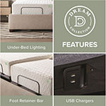 Dream Collection By Lucid® Deluxe Adjustable Bed Base
